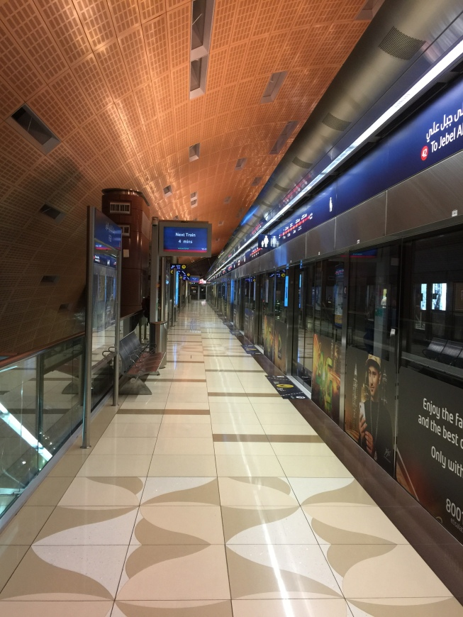 essay on dubai metro